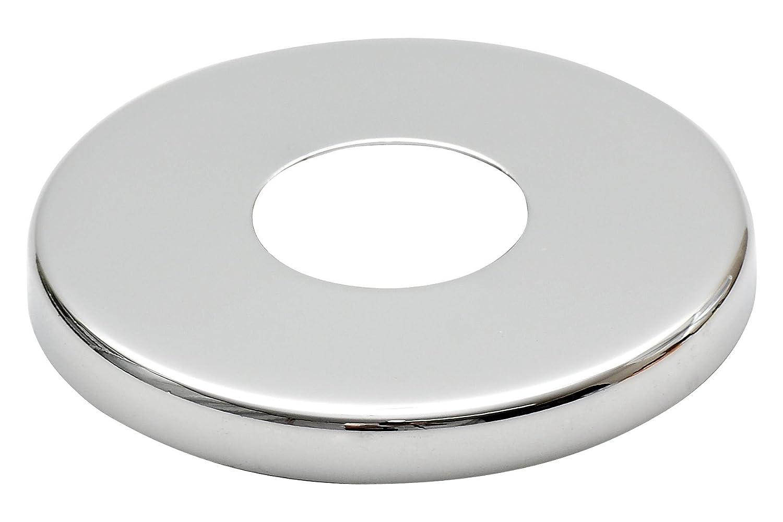 Collar Acero Cromado V/álvula Alto Agujero Cubrir Grifo 8mm Altura 21mm 1//2