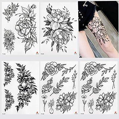 KAMRL Tatuaje Falso Tatuaje Bajo El Pecho Esternón Hombro Brazo ...