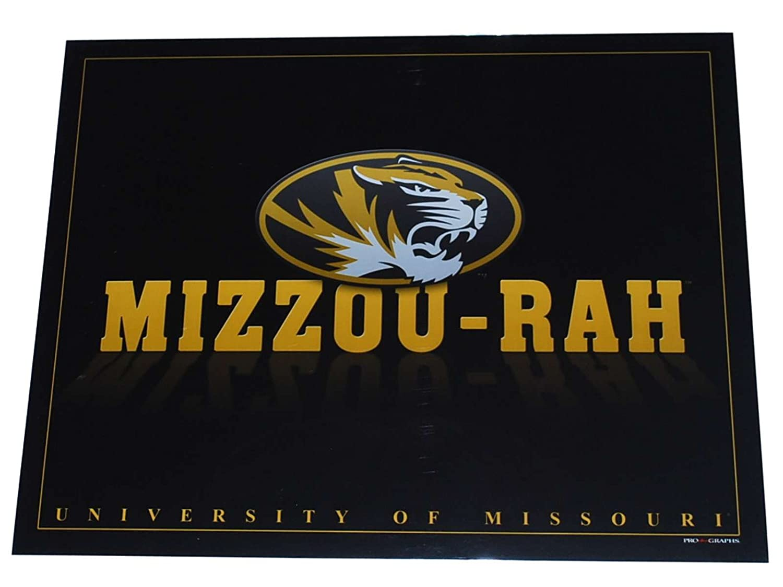 bc3159e0d4 Amazon.com   Pro Graphs Missouri Tigers Reflections  Mizzou-Rah Black Ready  to Frame Print 16 X 20   Sports   Outdoors
