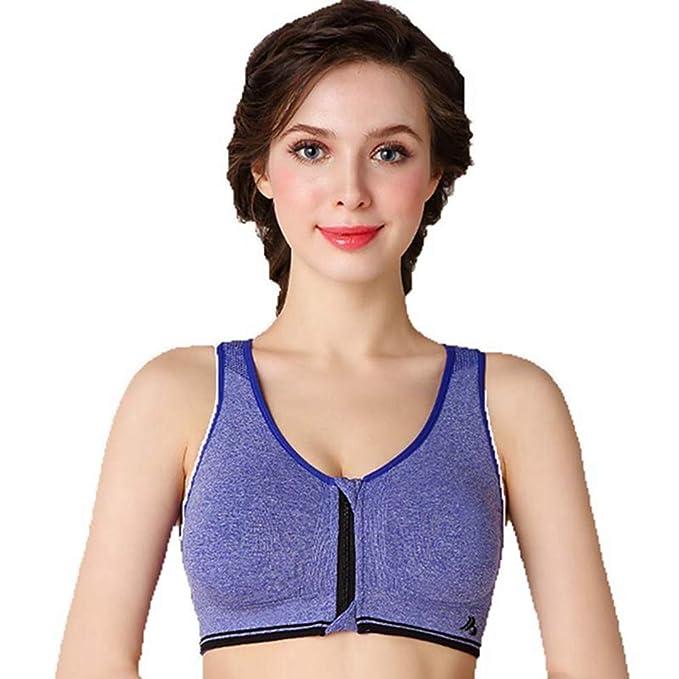 649a0c638fa4c QIQI Pregnant Women Underwear Nursing Bra Feeding No Steel Ring Sleep Breastfeeding  Sports Bra Zipper Feeding