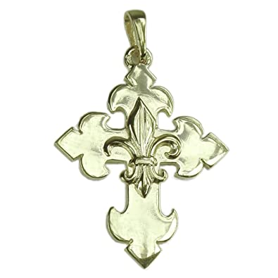 Souvenirs of France - Fleur-de-Lis Cross GwLjVsxB