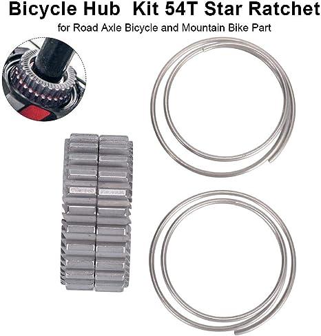 Ploufer Trinquete Star de Bicicleta, Kit de Servicio de buje 54T ...