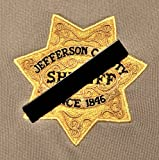 #6: Black Mourning Band Pin for Cloth Embroidered Badges to Honor Fallen Law Enforcement Police Sheriff