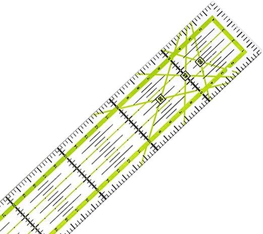 30CM Johnsosen Herramienta de Acolchado de Costura DIY Regla de Patchwork Regla de Costura 5