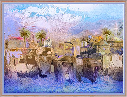 Jacob Kirshboim, Acre, Israel; Sea view, Digital Aluminum Print, (Israel Signed)