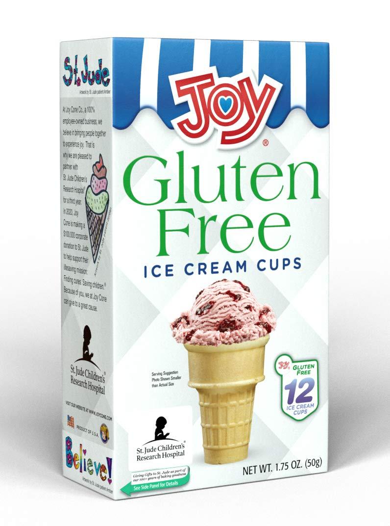 Joy Gluten-Free Ice Cream Cones Cake Cups, 1.75 Ounce, 12 Count