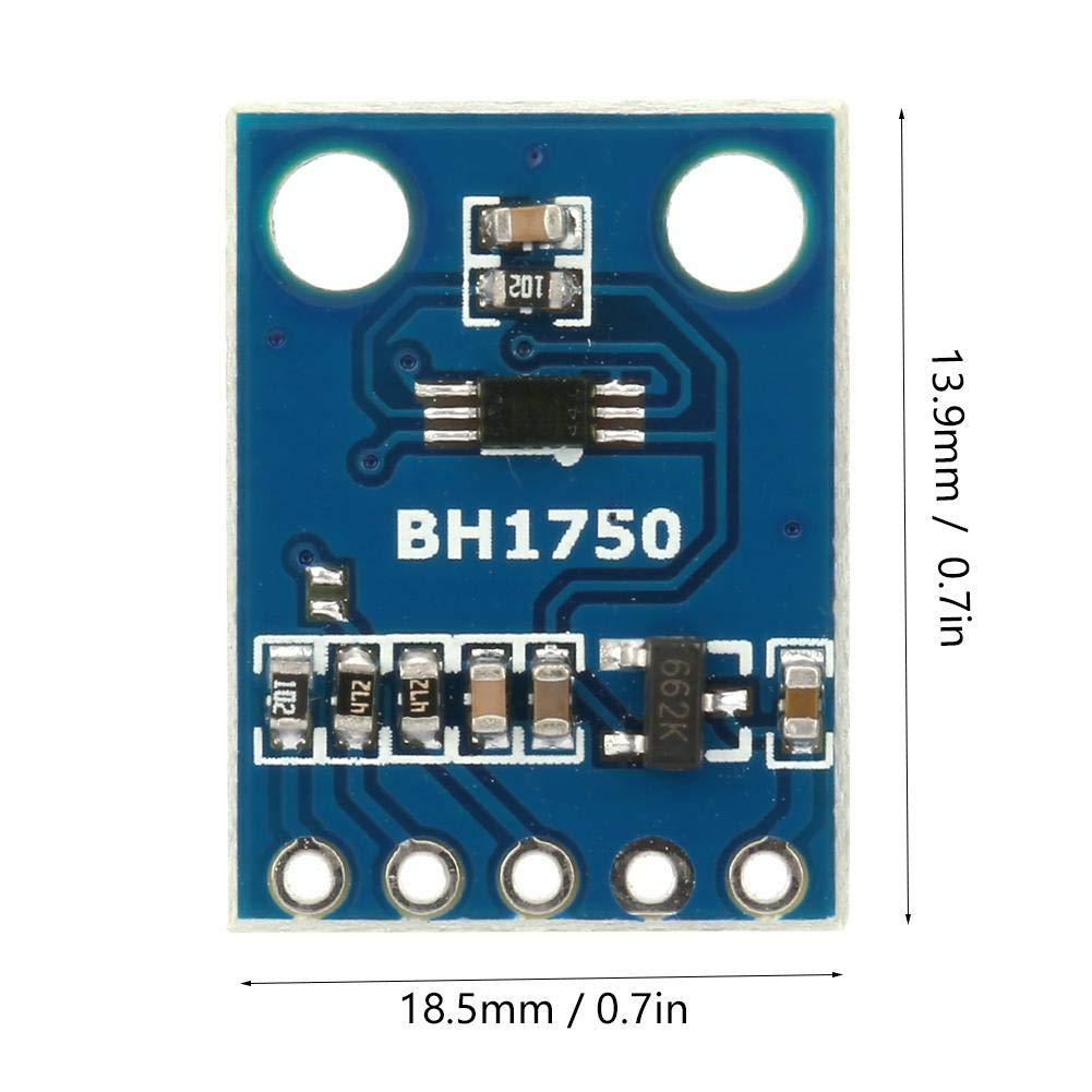 Nitrip GY-302 Module dalimentation 3-5V de module dint/égration de puce dintensit/é lumineuse num/érique BH1750