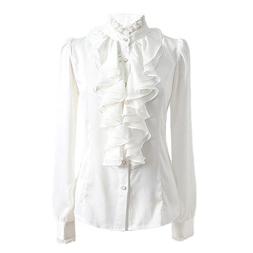 Nonbrand - Camisas - Button Down - Básico - con botones - para mujer