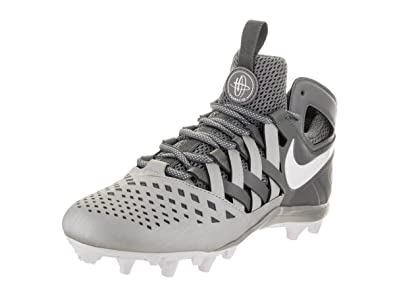 Nike Men s Huarache V Lacrosse Shoes - 9 M Cool Grey White  Buy ... 5a0bb31acbf