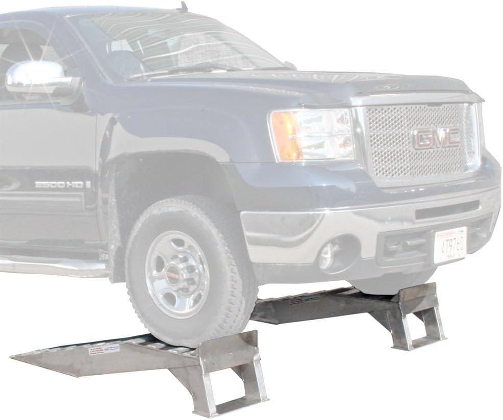 Rage Powersports Aluminum Pickup Truck Wheel Riser Service Ramps