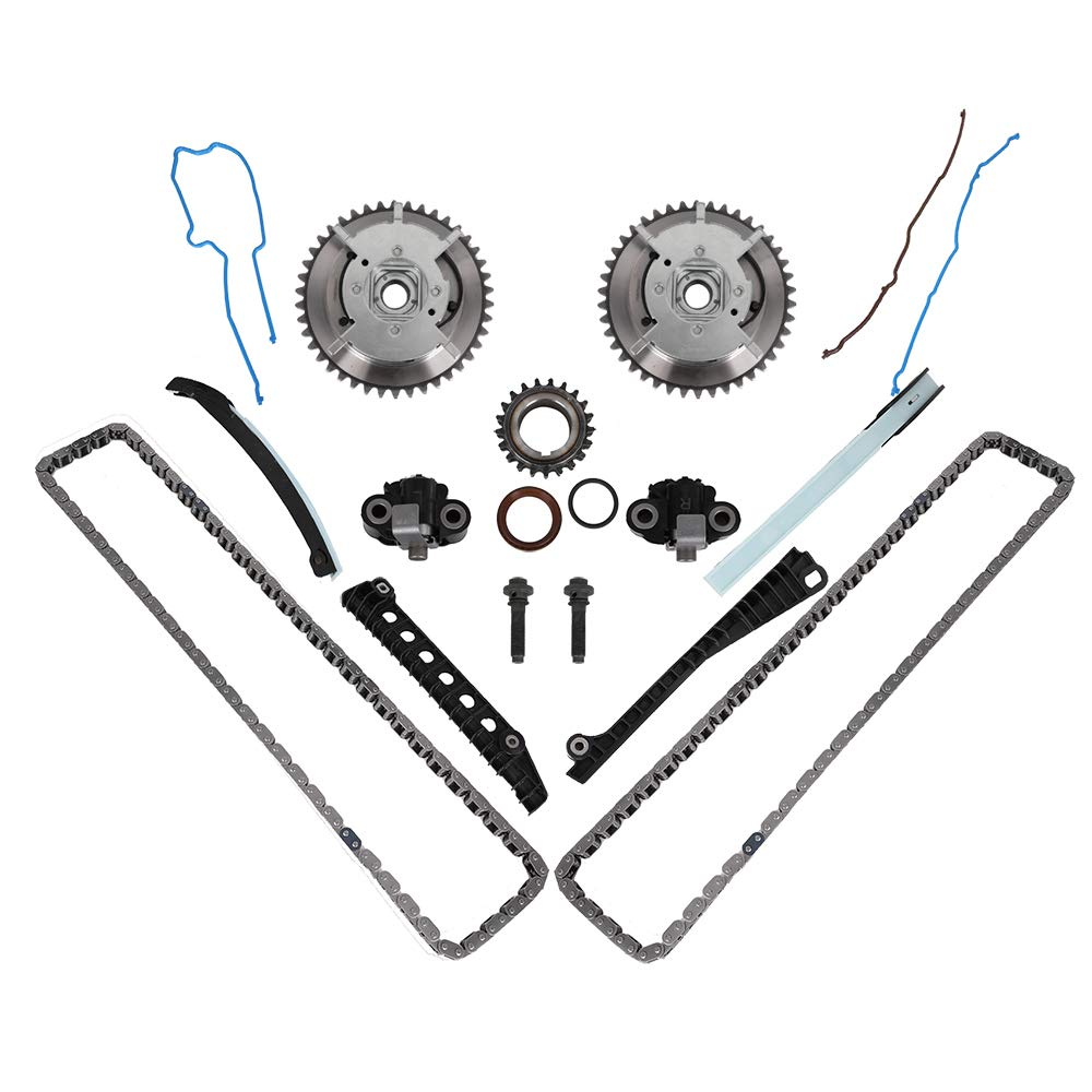 Engine Timing Chain Kit With Camshaft Drive Phaser Repair For Ford F 250 Wiring Harness Kits Expedition F150 F250 F350