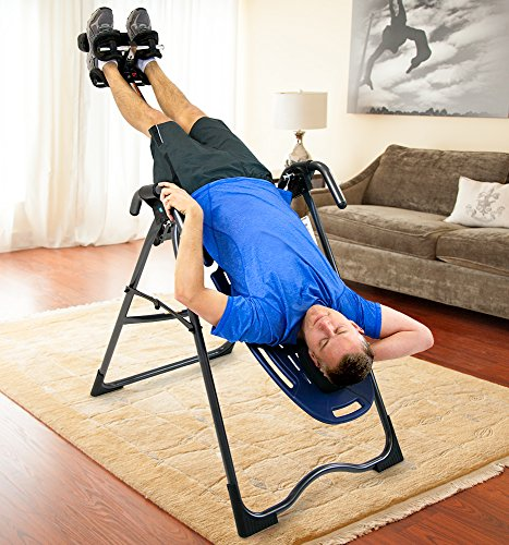 Teeter E6-1001 FDA-Cleared Inversion Table for back pain relief, 3rd-Party Safety Certified,...