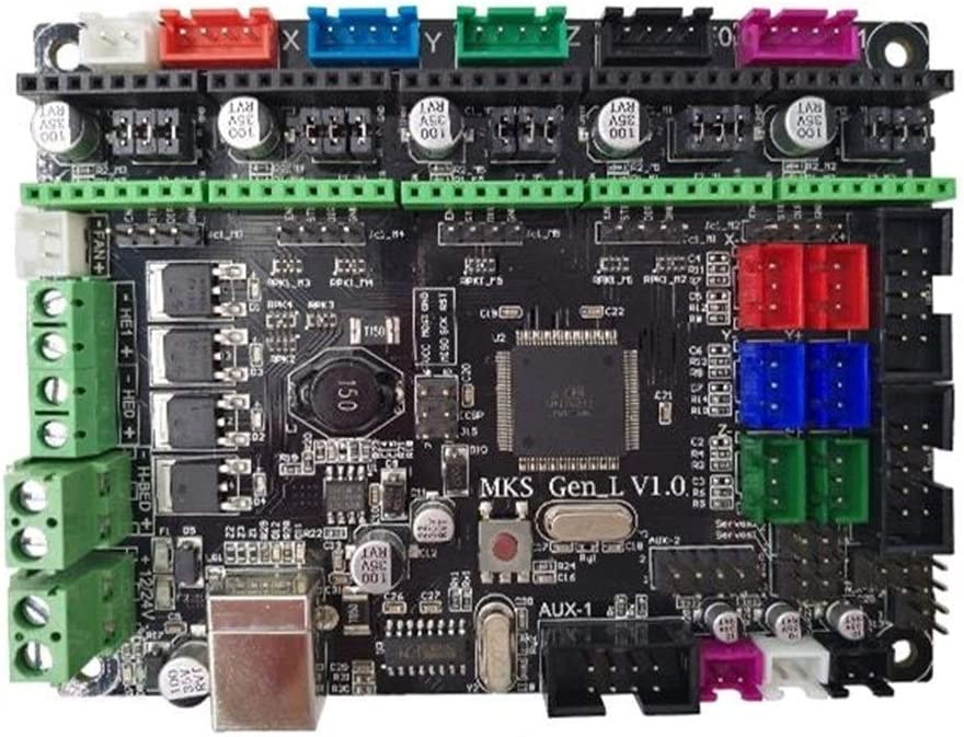 3Dプリンタアクセサリ JZ-TS24 2.4インチフルカラーLCDタッチディスプレイ画面+ MKS-GEN L統合コントローラメインボードV1.0のための3Dプリンター YYFJP