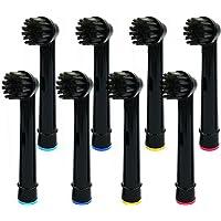 SHUZHEN 8 Stks Bamboe Houtskool Borstel Heads Fit voor oraal B Rotatie Type Elektrische Tandenborstel Heads/Pro Health…