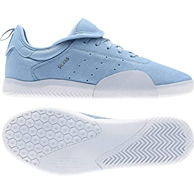 hot sale online c71c3 ca2d7 ADIDAS SKATEBOARDING 3ST.003 Miles Silvas Clear Blue Collegiate Navy  Feather White Amazon.co.uk Shoes  Bags