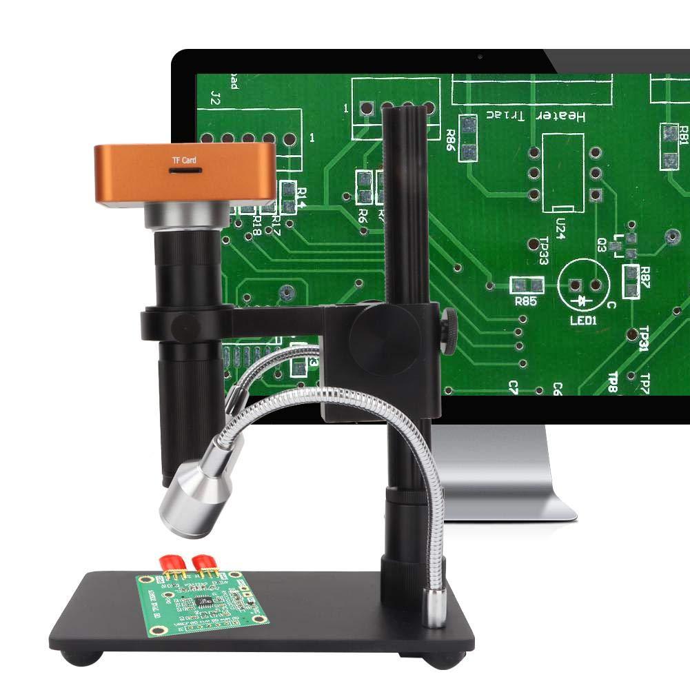 21mp Digital Microscope Integrated Machine Industrial Microscope Set 100-240V US
