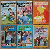 Encyclopedia Brown Set of 6 Books (Encyclopedia Brown Boy Detective ~ Cracks the Case ~ The Case of the Two Spies ~ Gets His Ma (Encyclopedia Brown Boy Detective ~ Cracks the Case ~ The Case of the Two Spies ~ Gets His Man ~ Takes the Cake ~ Sets the Pace)