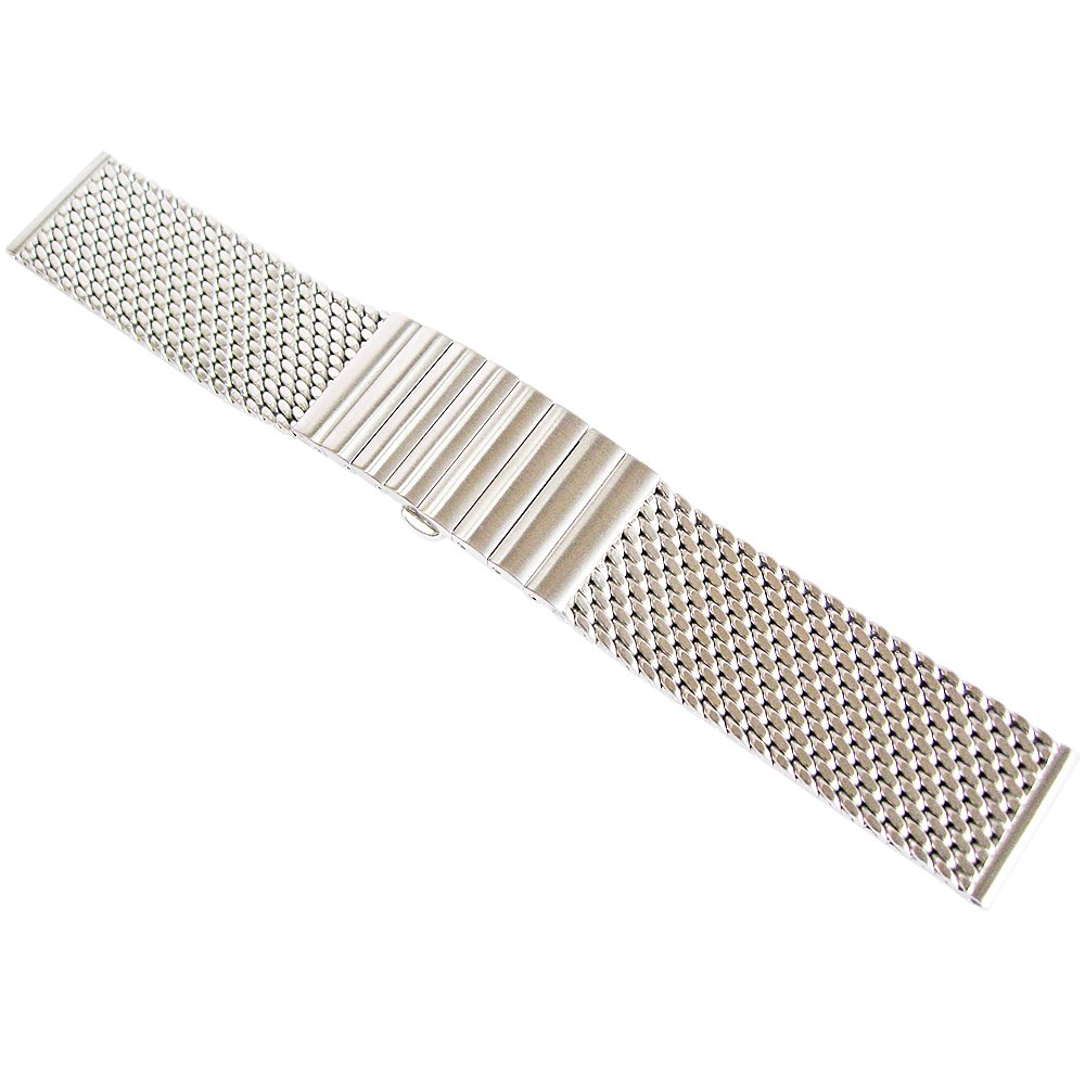 Staib 20mm Matte Mesh 150mm Steel Watch Band Model 2792