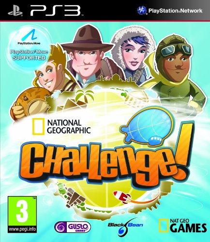 National Geographic Challenge! (PlayStation 3) PlayStation Move Supported (Playstation 3 Educational Games)