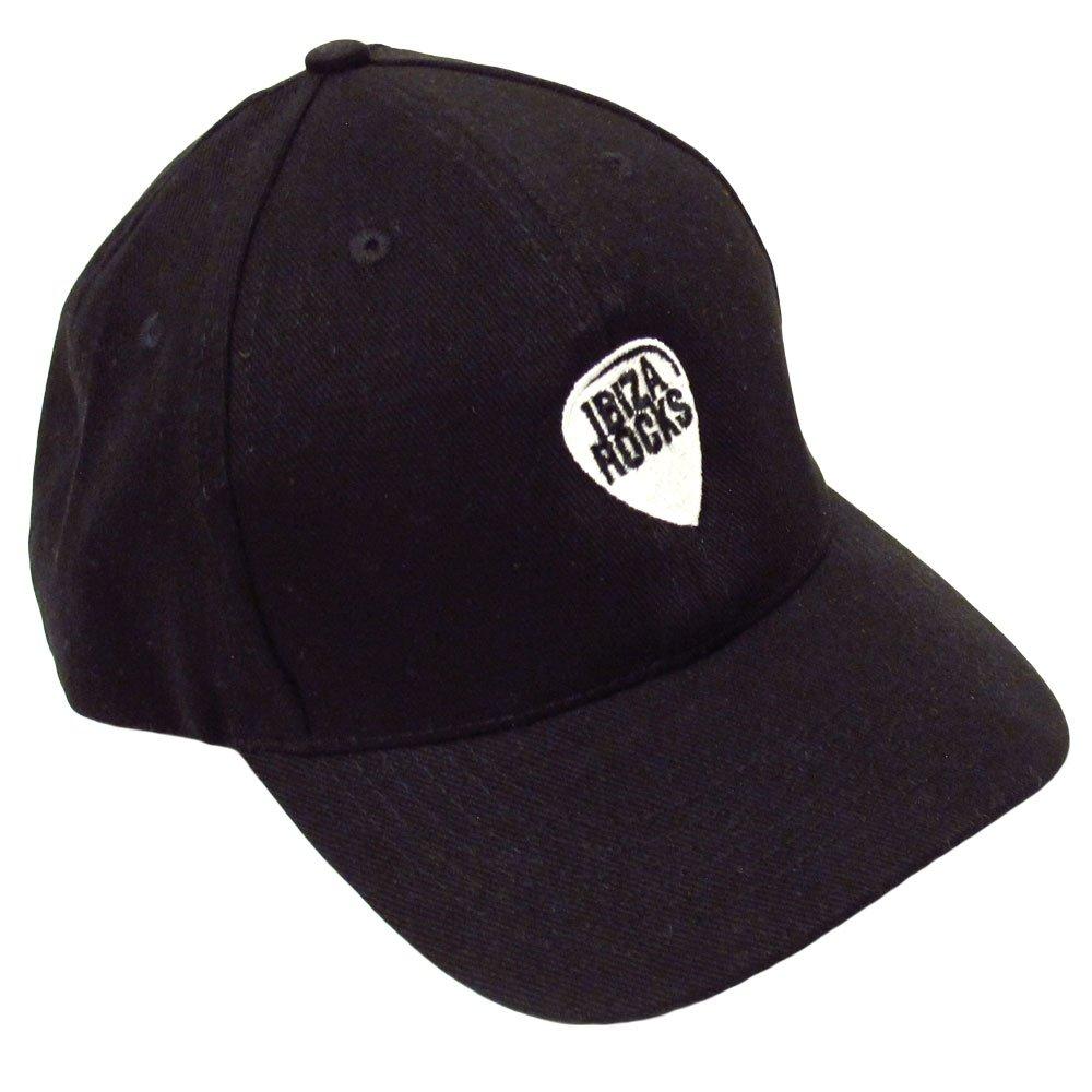 Ibiza Rocks Gorra Dad con Logo - Negro, Talla única: Amazon.es ...