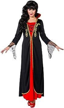 Krause & Sohn Disfraz Vampiro Lady Gr. S-L Halloween Draculina (S ...