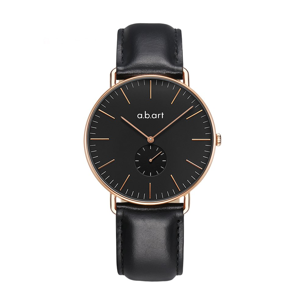 a.b.art FR41-015-1L Men Watch timepiece Lido Oily Cowhide Strap Watches