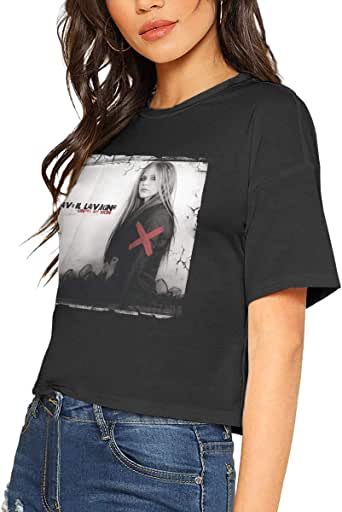 Amazon.com: Womens Crop Tops Women Avril Lavigne Under My