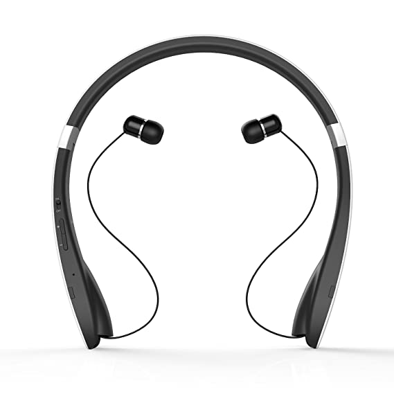 Auriculares Bluetooth 4.1 Deportivo Dylan Inalámbrico Wireless Headphone Casco Manos Libres Estéreo con Micrófono Deporte para Móvil Neckband Diseño con ...