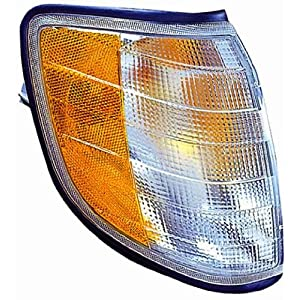 Depo 340-1505R-AS-CY Mercedes-Benz S-Class Passenger Side Replacement Parking/Signal Light Assembly