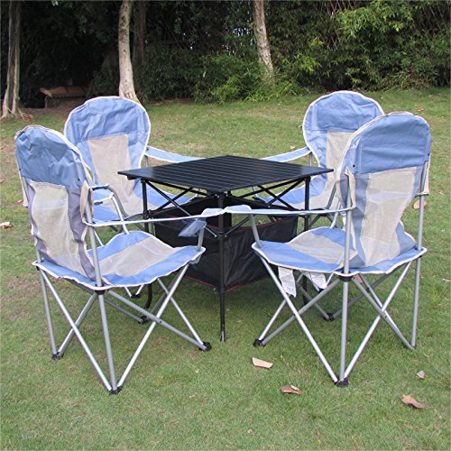 mccoutdoor freizeit klapptisch und stuhl kombination portable treibende bbq camping picknick. Black Bedroom Furniture Sets. Home Design Ideas