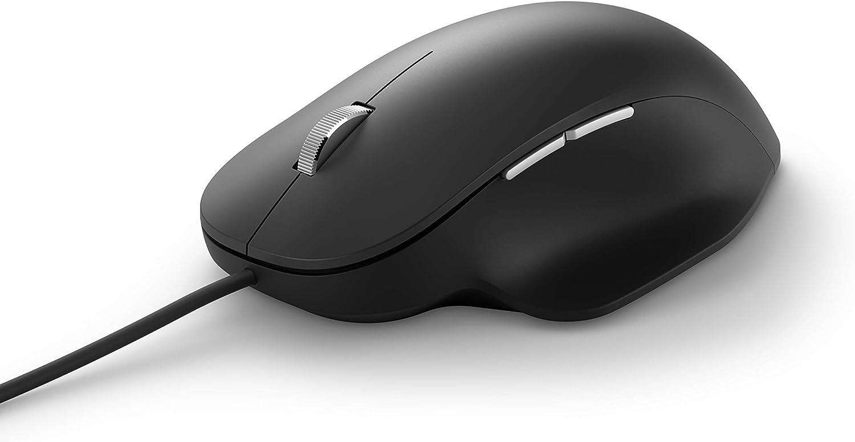 Amazon.com: Microsoft Ergonomic Mouse Black (RJG-00001): Computers & Accessories