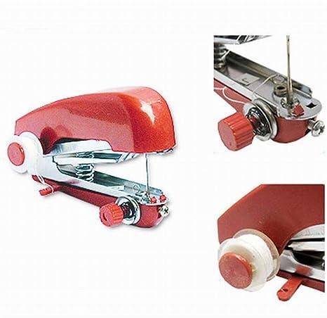 CXJUN Máquina de Coser portátil al Aire Libre pequeña Mini Manual ...