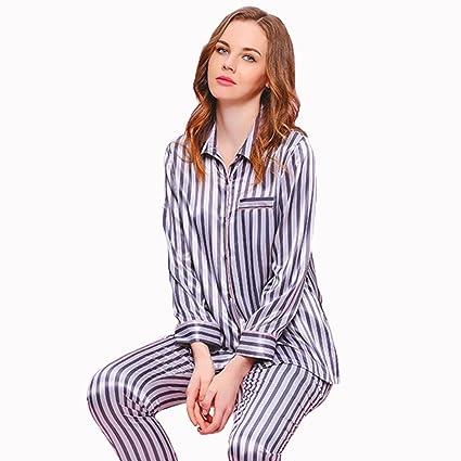 Xi Man Shop Pijama Mujer Ropa de Dormir Conjunto Ropa de Dormir Traje de Dos Piezas