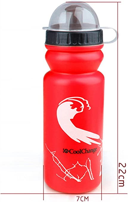 Bicycle Sport Water Bottle with Straw CoolChange Vacuum Insulated Stainless Steel Heat Preservation for Cold Two Applicable 18 oz ONE Push Open