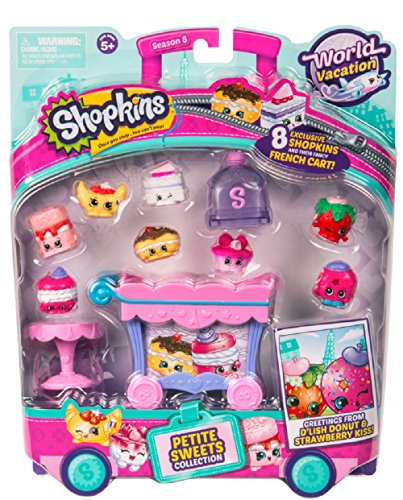 Shopkins World Vacation  - Petite Sweets Collection