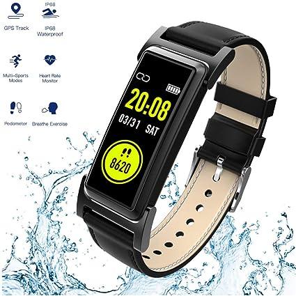 Amazon.com : JIHUIA GPS Activity Fitness Tracker, Heart Rate ...
