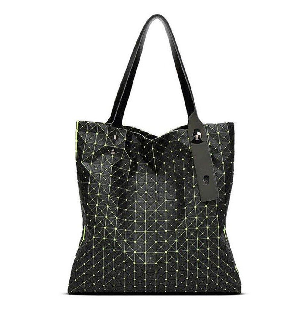 Yueling Frauen-Tasche Geometrische Geometrische Geometrische Umhängetasche Marke Stil Berühmte Logo Tasche Casual Totes Beste Geschenk Für Mädchen B07CR64J79 Damenhandtaschen Das hochwertigste Material ef5c69