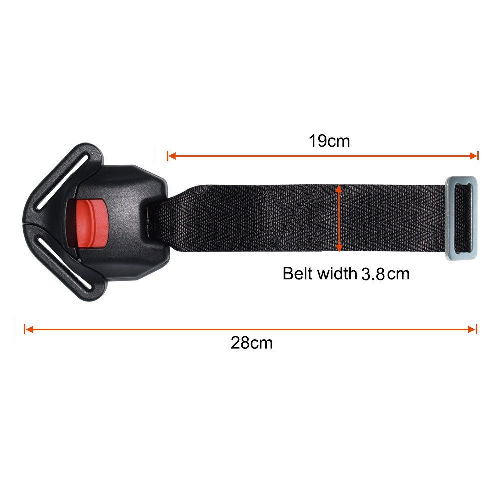 Universal Baby Car Seat Stroller Pushchair 5PT 5 Point Safety Harness Locking Buckle Clip Feiteplus FP-372-Baby