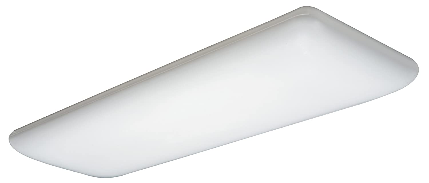 Amazon.com: Lithonia Lighting 10642RE Four Foot Four Lamp T8 Fluorescent  Litepuff, White: Home Improvement