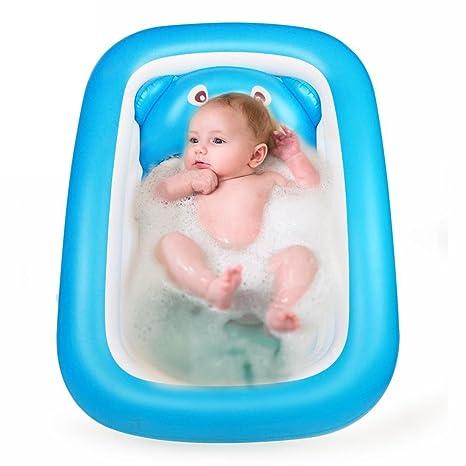 Starter Bañera de bebé inflable, Topist Piscina de aire ...
