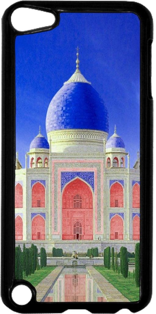 Taj Mahal Color - Case for the Apple Ipod 5th Generation-Hard Black Plastic