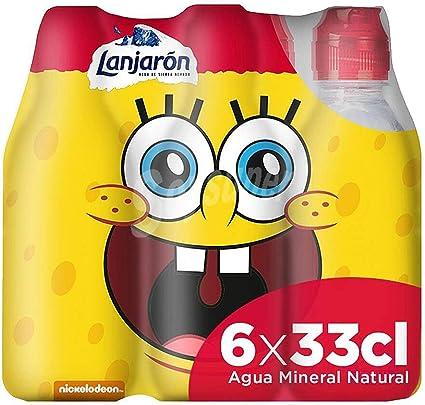 Lanjarón Agua Mineral con Tapón Infantil - Pack 6 x 33cl: Amazon.es: Alimentación y bebidas