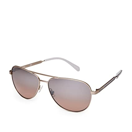 b8f044c14d Amazon.com  Fossil Bayfield Aviator Sunglasses FOS3065S 0AOZ  Sports    Outdoors