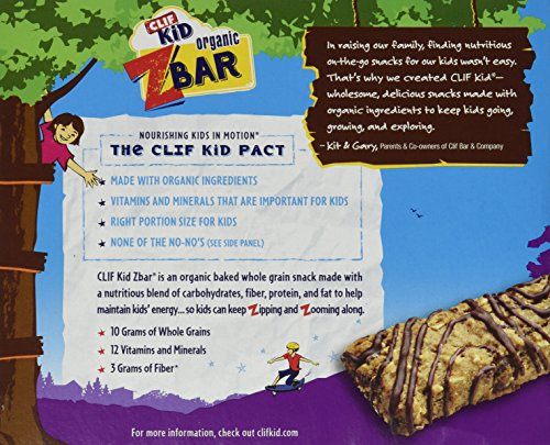 Clif Kid Z Bar - Chocolate Chip - 6 ct