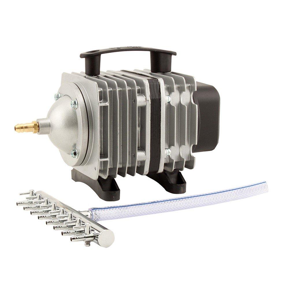 EcoPlus 728457 5 to 80W Single Outlet Commercial Air Pump, 1300 GPH by EcoPlus B002JLGJVM