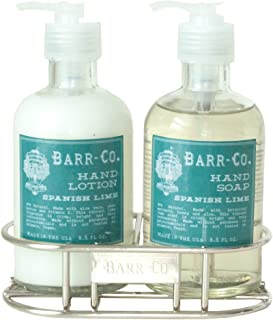 product image for Barr-Co Spanish Lime Hand & Body Duo Caddy