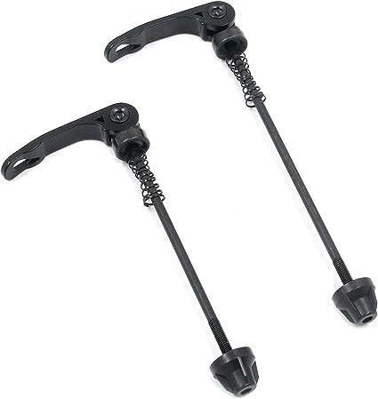 1 Pair MTB Bike Bicycle Wheel Hub Skewers Quick Release Bolt Lever Axle Tool