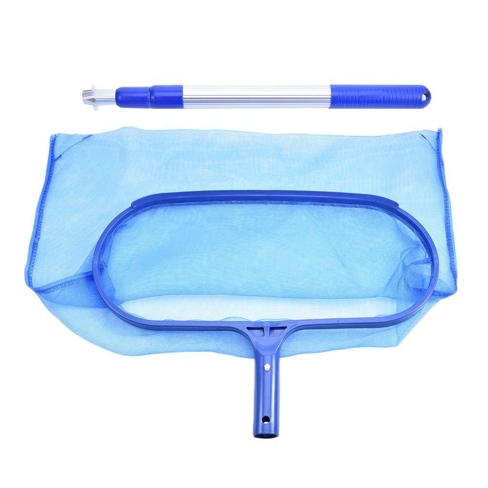 Aluminum Poolkescher Bodenkescher Pool Netz Schwimmbadkescher mit Beutel