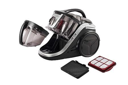 Rowenta Silence Force Multi RO8388EA - Aspirador sin bolsa multiciclónica con clasificación 4A, silenciosa, fácil de limpiar y almacenar y con accesorios ...