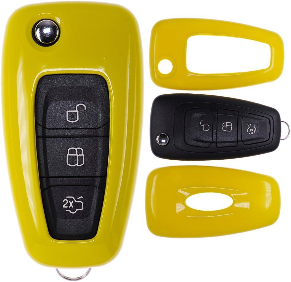 Klapp Schlüssel Cover Hülle Für Ford Mondeo S Max Focus Elektronik